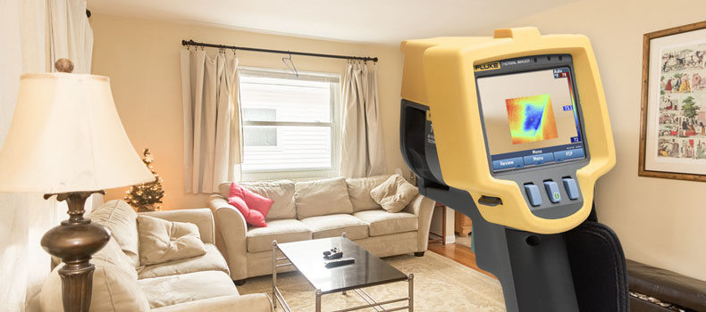 Get a thermal (infrared) home inspection from Double Check Home Inspections